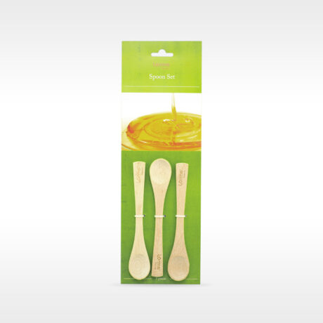Natura Wooden honey spoons set 3/1