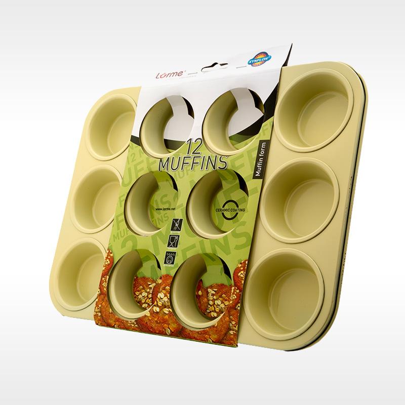 Classic Ceramics Muffin pan 12 cups