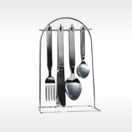 Classic Cutlery on stand set 24/1